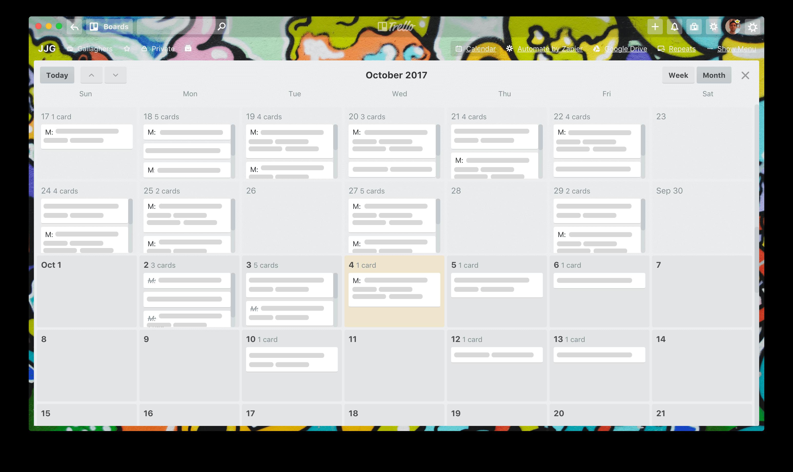 Calendrier Trello.Trello Calendar View For Personal Productivity