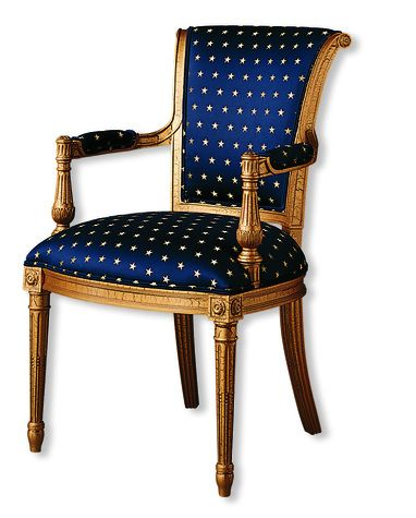 Councill Furniture  Pierre Arm Chair  Item: 5071A    Each chair is between $1,820.00 and $3,280.00 but I *LOVE* this.  I absolutely love this.  It reminds me of French Empire lets-take-over-a-country.