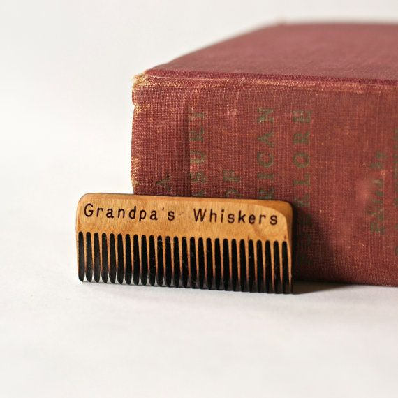 Grandpas Whiskers Comb - Beard or Mustache Comb