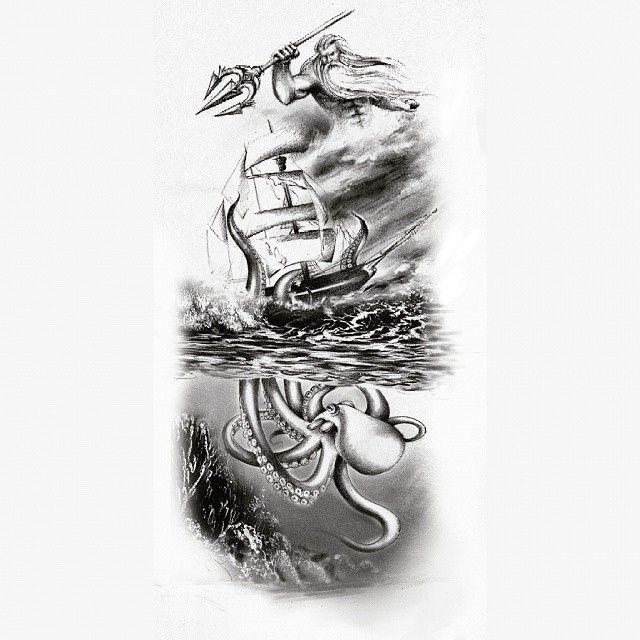 poseidon vs the kraken - photo #19