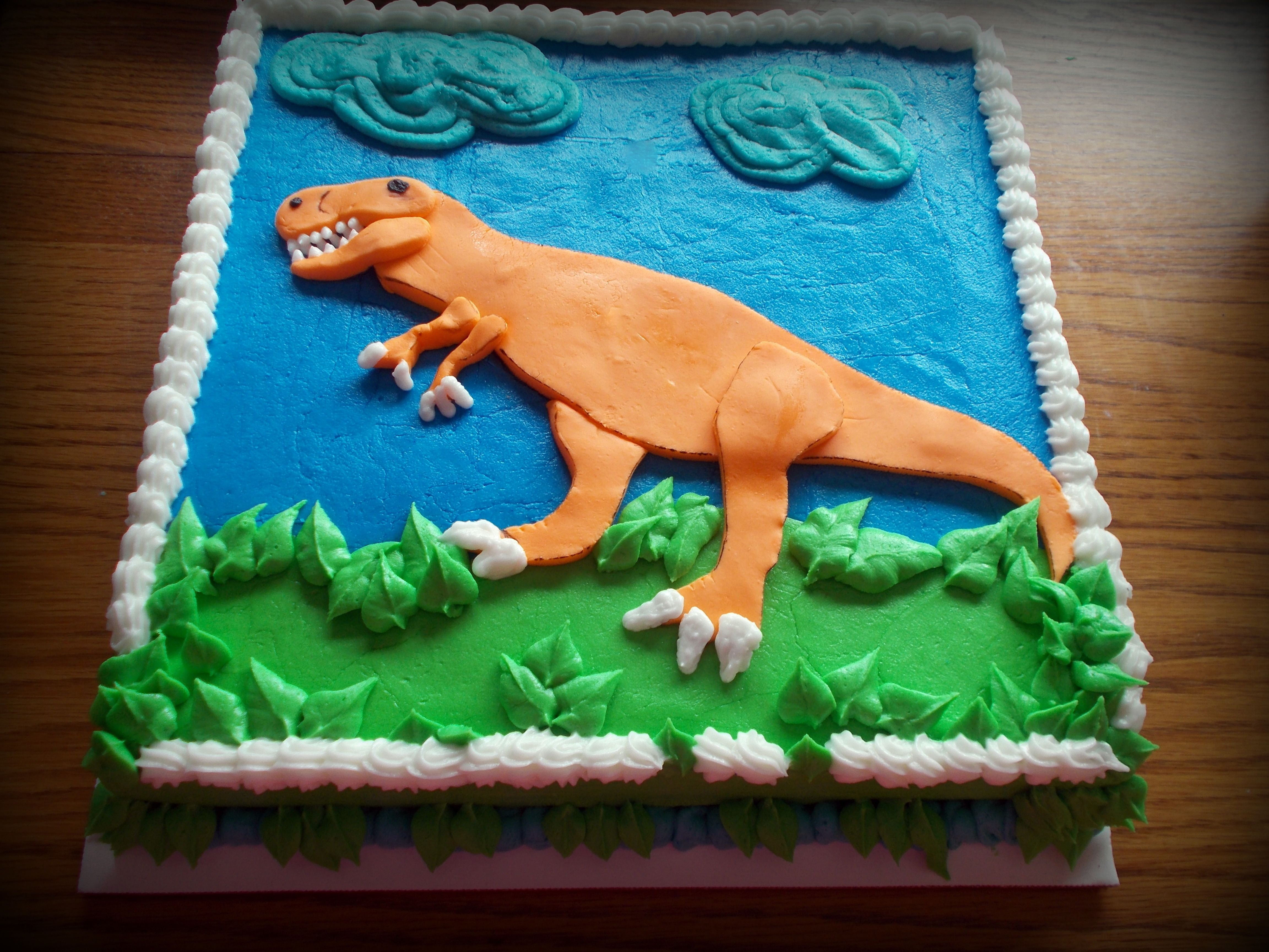 TRex cake Things Ive created Pinterest Cake Birthdays and