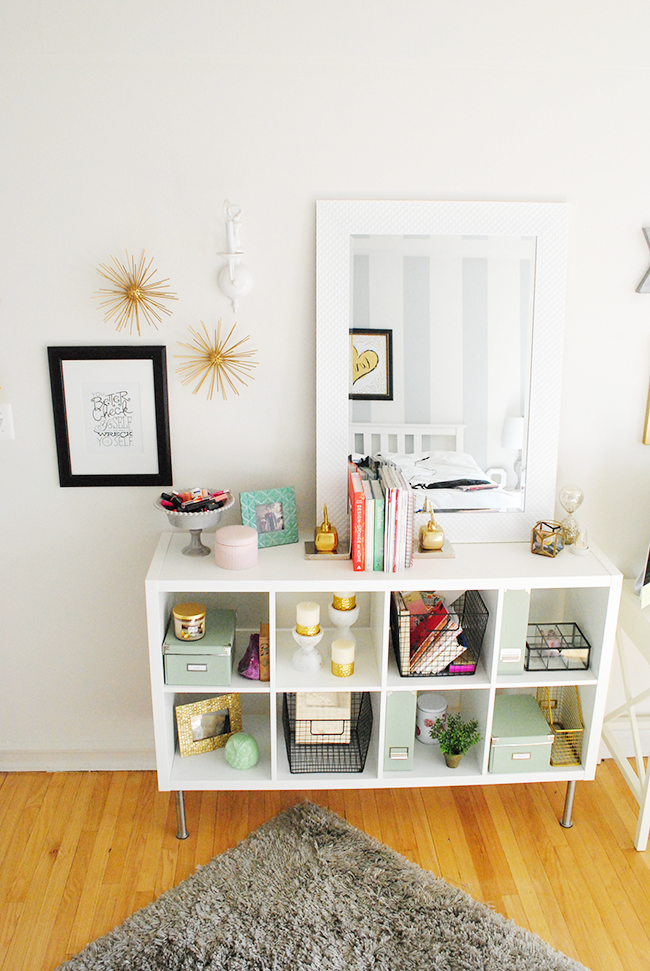 Apartment Tour: Office Space (Lauren Loves). Ikea MirrorCube OrganizerWhite  ...