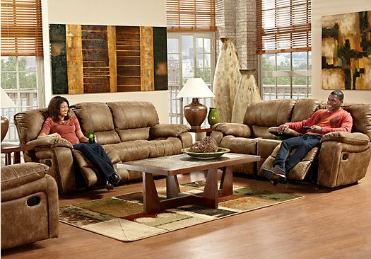 Shop For A Cindy Crawford Home Alpen Ridge 3 Pc Living Room At Rooms To Go