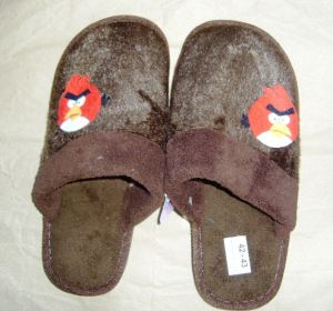 Angry birds' slippers