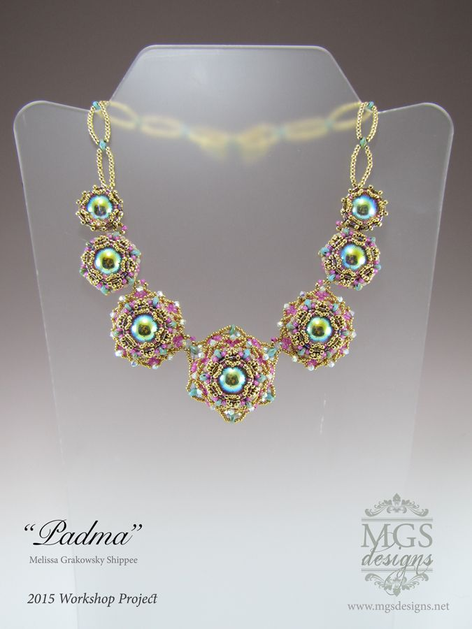 Padma Necklace - 2015 Workshop Project www.mgsdesigns.net