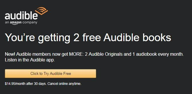 Free Audible 3 Month Trial Membership With Amazon Prime For New Audible Subscribers Only Audible Offers Amazon Prime Me Audible Books Amazon Prime Audio Books