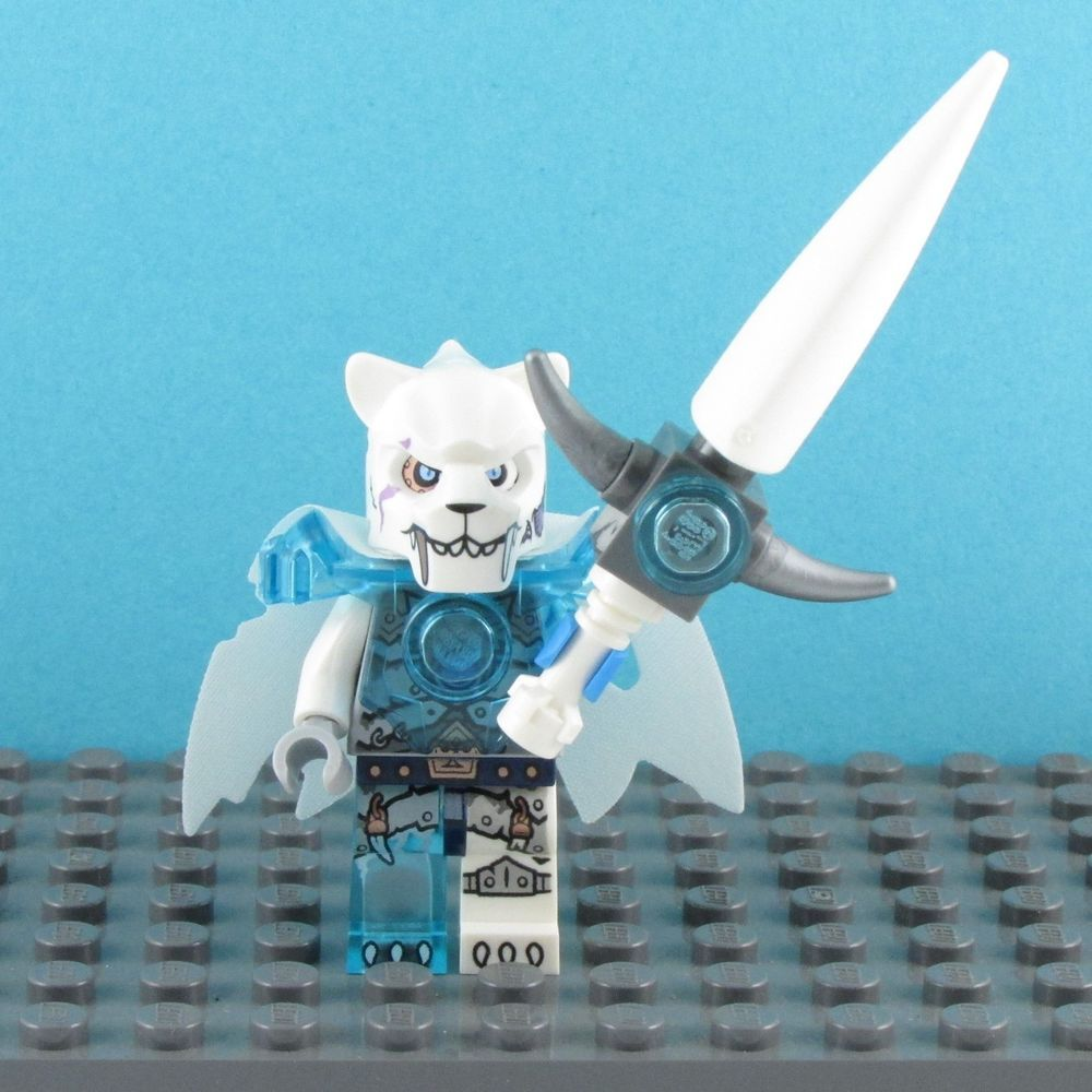 LEGO Chima ~ Sir Fangar Minifigure ~ Sir Fangar Sabre-Tooth Walker 70143 ~ New! #LEGO