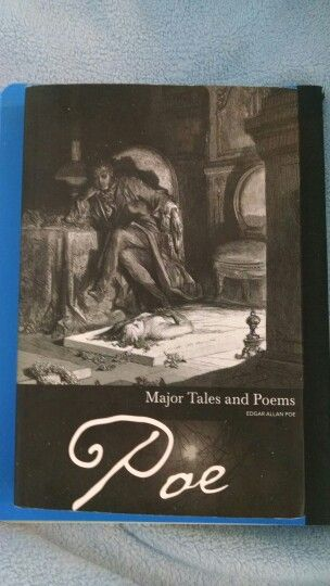 Love this cover and reading Poe.