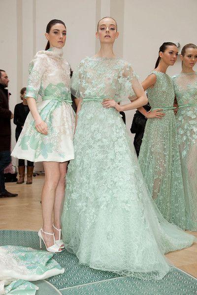 Couture Spring 2012 - Elie Saab (Backstage)