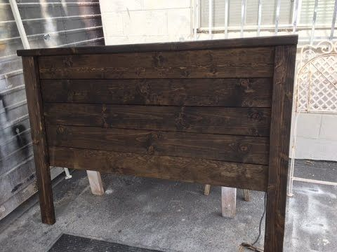 Best Diy Project Rustic Wood Headboard Easy Build Under 40 400 x 300