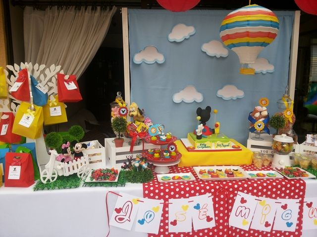 Mickey Mouse Clubhouse Birthday Party Ideas Mickey Mouse Parties Mickey Mouse Clubhouse Party Fiesta Mickey Mouse