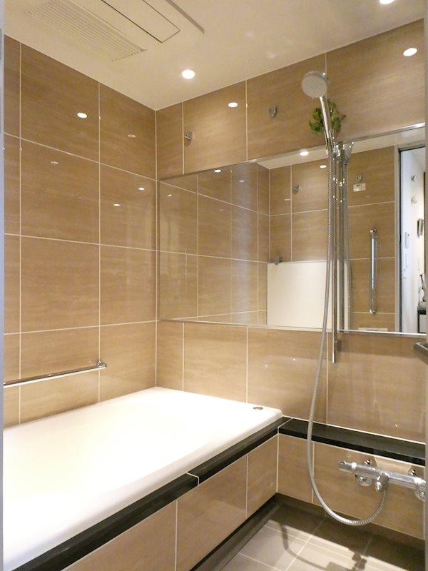 バスルーム オプションによりグレードアップしています もちろん浴室