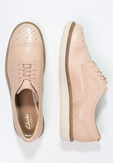 Clarks GLICK SHINE - Lace-ups - nude for £79.99 (10/01/17) with free delivery at Zalando