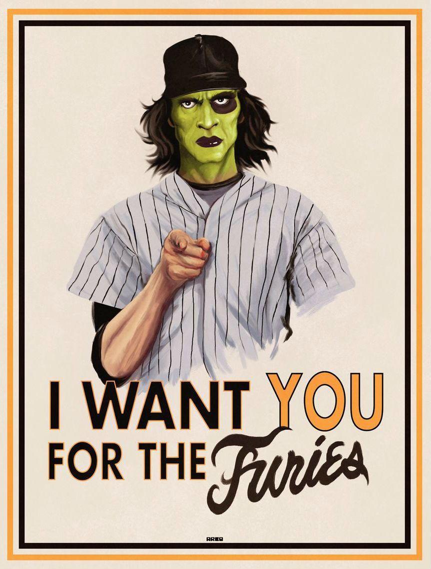 Baseball Furies By Matt Ferguson Warrior Movie Fury Poster Warrior