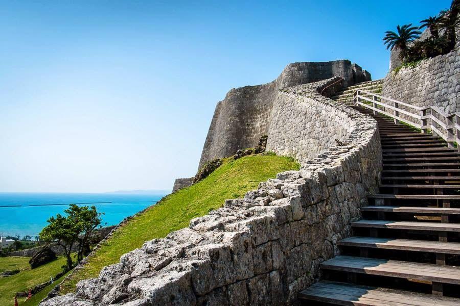 Nakagusuku Castle Ruins |Okinawa Japan Ruins