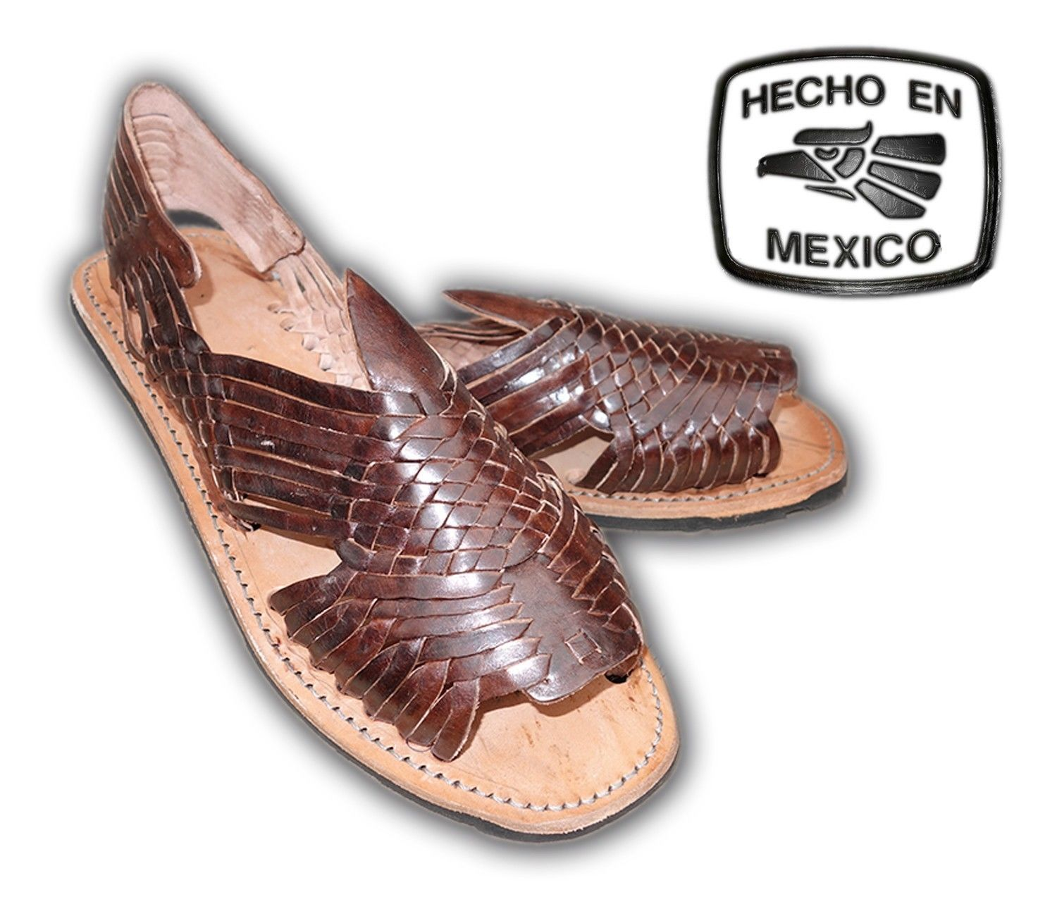 Leather Sandals and Flip Flops for Men | eBay. Men BeachMexican Huaraches  SandalsBeach SandalsWomen SandalsMan ShopMan WomenLeather SandalsOpen ToeBrown  ...