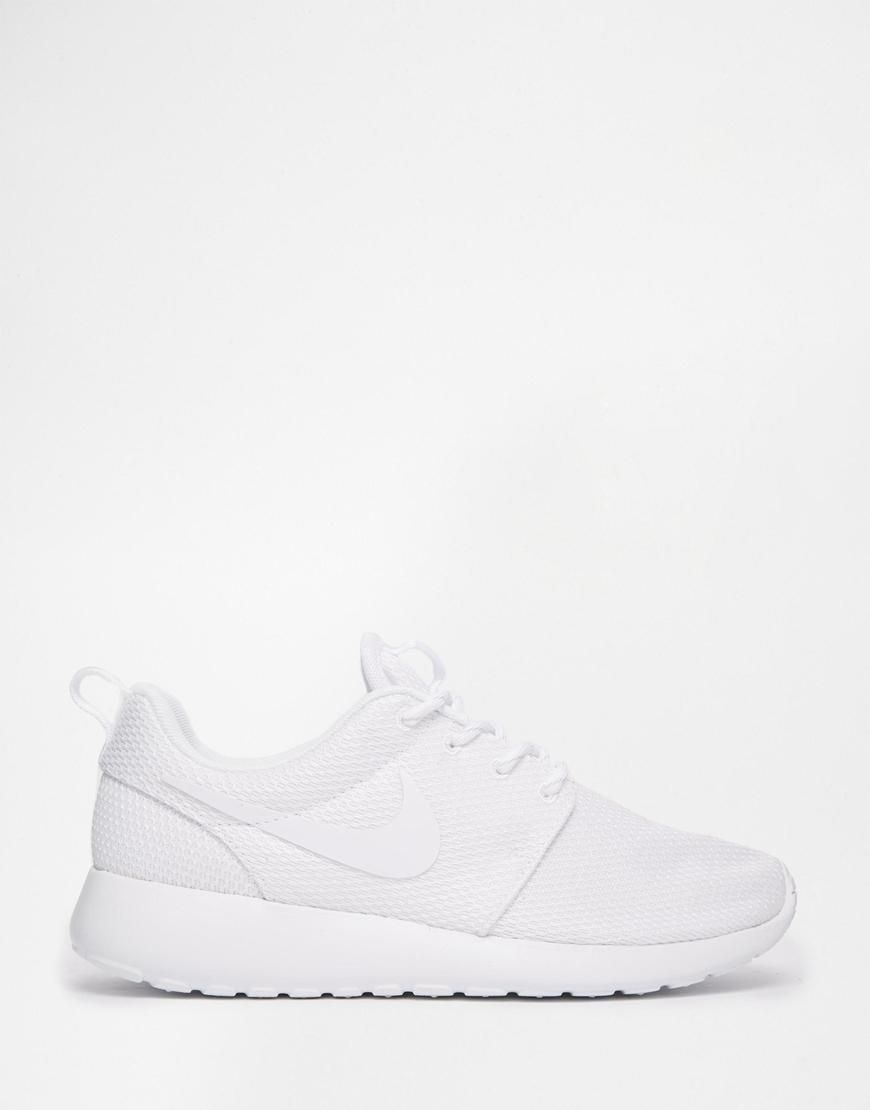 first rate a180f 0fd03 Nike | Nike Roshe Run White Trainers at ASOS | Nike ...