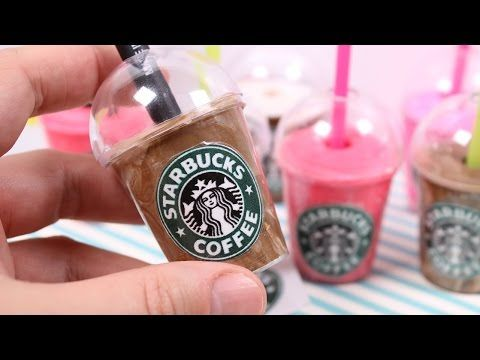 Diy Mini Starbucks Pencil Holders Youtube 18quot Dolls