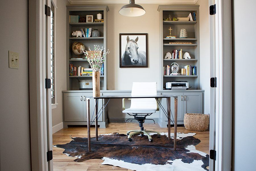 Modern Farmhouse Study CC and Mike, horse art in 2019