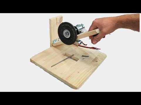 How To Make A Powerful Miter Saw Using A 12v Dc Motor Youtube
