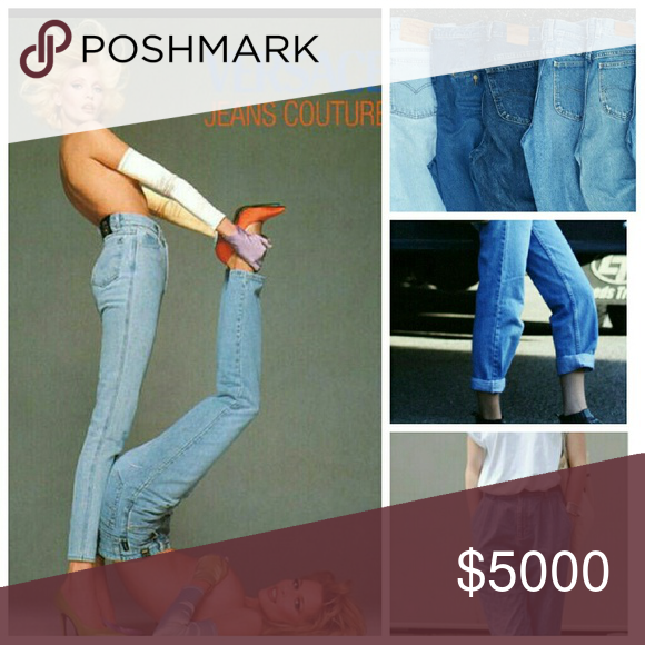Need Mom Jeans ?! I have 10+ pairs that I will be posting today ! Please like this listing and comment the size you are looking for, and I will notify you when I list a pair that may work for you ! **waist measurment is more helpful than number sizes ***I have 3 pairs already posted at the moment, check them out ! Vintage Jeans
