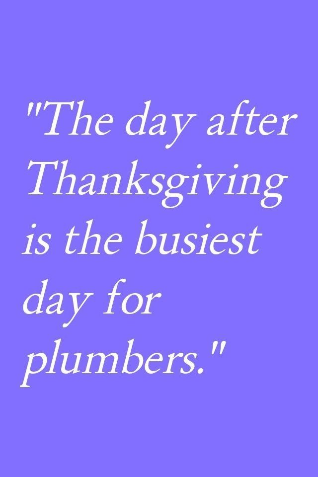 Funny Quote For The Day After Thanksgiving Funnythanksgivingquotes Plumbers Thanksgiving Quotes Funny Thanksgiving Jokes Thanksgiving Quotes