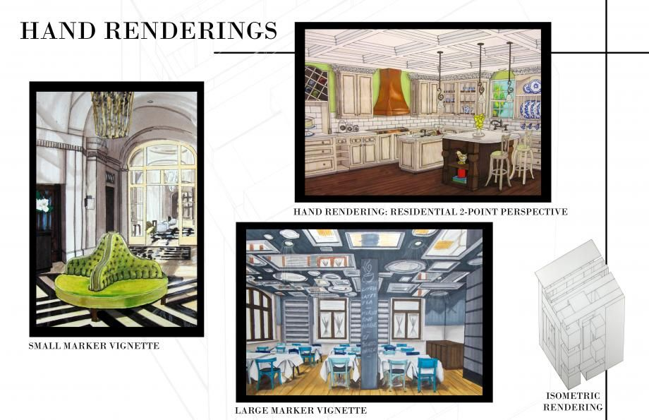 Interior design student portfolio asid art pinterest for Interior design portfolio examples
