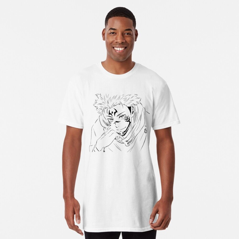 Sukuna Jujutsu Kaisen Long T Shirt By Bangcen T Shirt Shirts Tshirt Colors