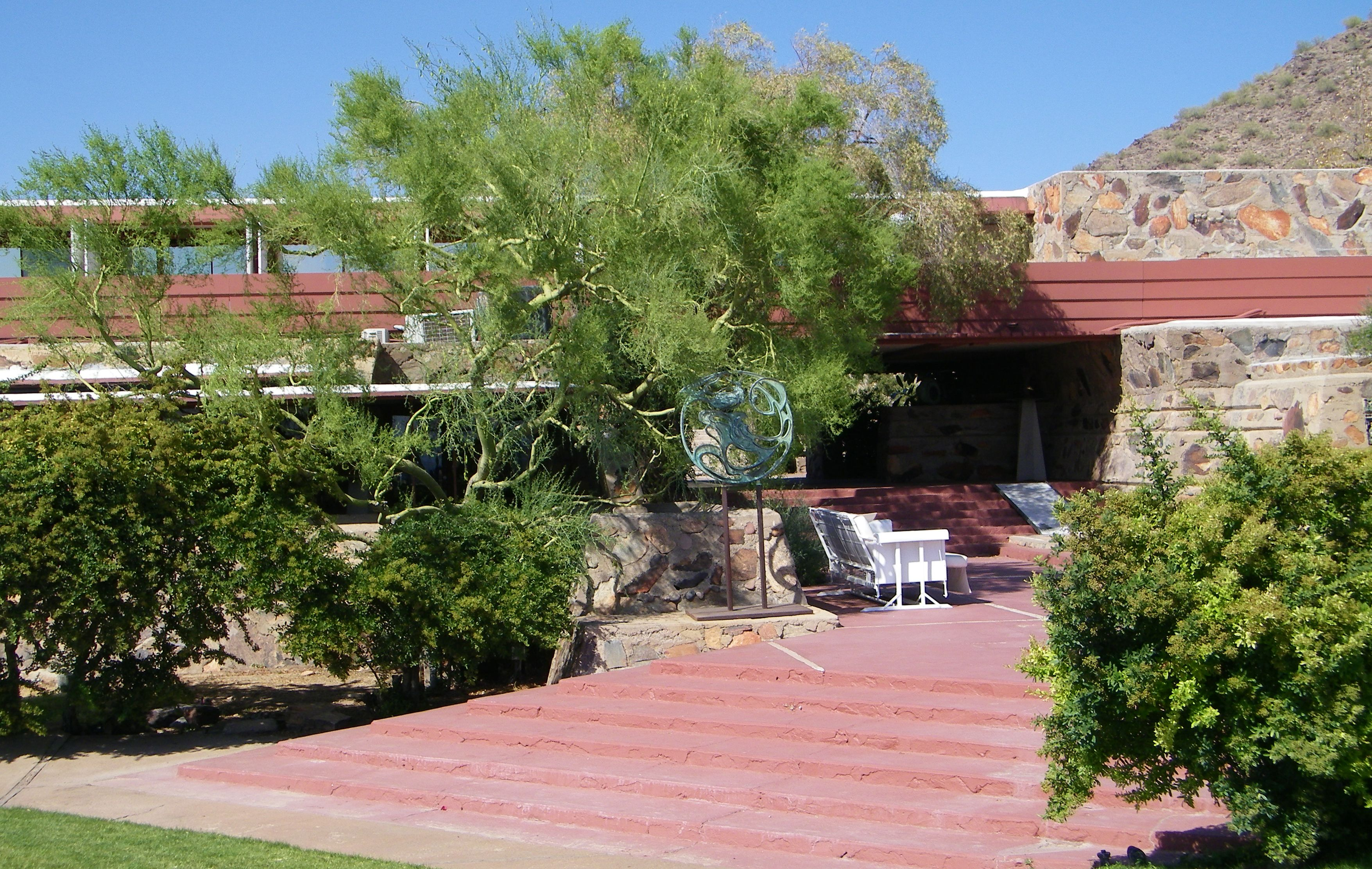 Taliesin West Frank Lloyd Wright  via Timesharetraveling.com. see all of the pics and Information...A must see if you are in the area.