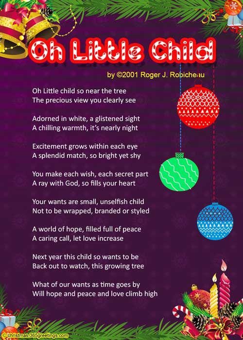 Christmas Poems For Kids | Poem, Christmas words and Craft