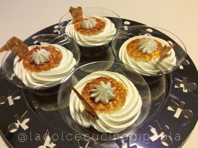 La dolce cucina di Paola : Ganache montata in coppa al profumo d'arancia