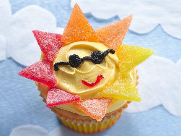 mr. sun cupcakes ~ from bettycrocker.com