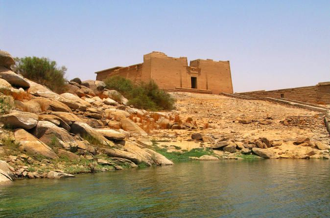 Private Tour: Kalabsha Temple on Lake Nasser On the banks of Lake Nasser lies Kalabsha Temple, an often overlooked jewel of Aswan. Your Egyptologist guide is waiting to take you on a private tour to the temple to help you unlock its secrets. For two years from 1961, Kalabsha Temple was dismantled into 15,000 pieces and moved block by block to its current location on the banks of Lake Nasser. It was just one of 18 temples and monuments moved in order to preserve them fr...