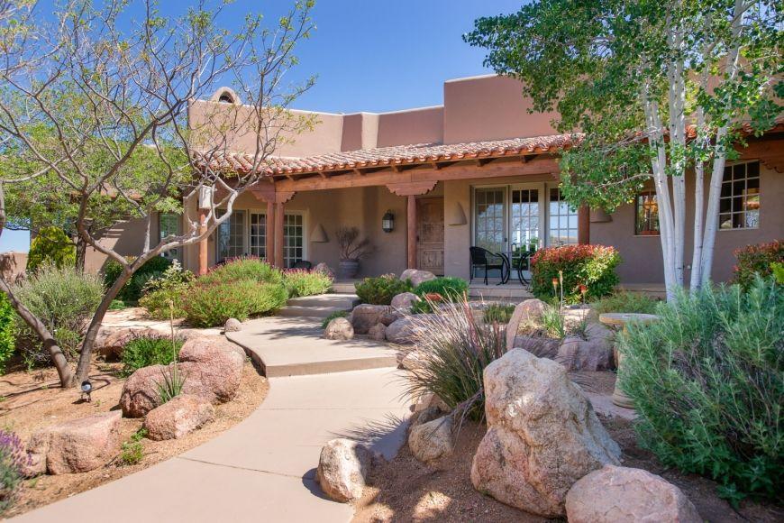 "Santa Fe Style Homes even some ""sante fe"" style homes.   prescott homes   pinterest"