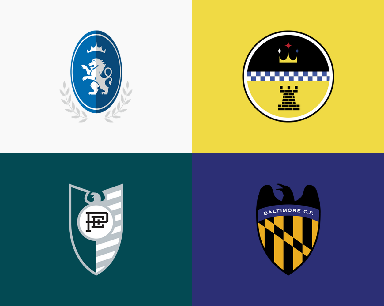 NFL Logos Redesigned to Look Like European Football (Soccer