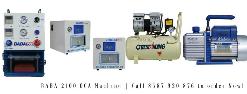 Baba 2100 Oca Machine Screen Repair Glass Repair Vacuum Pump