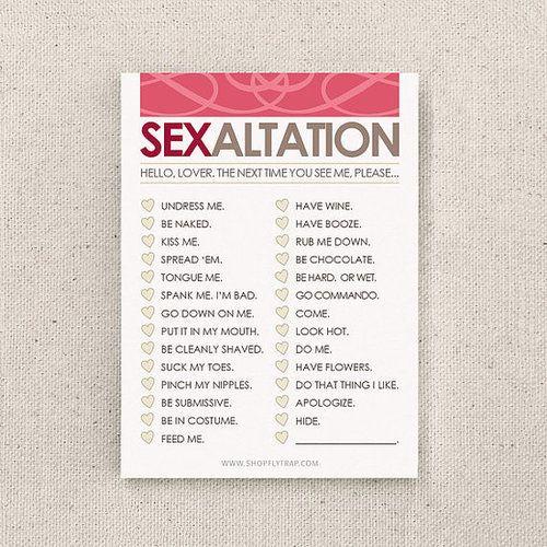 Sexaltation