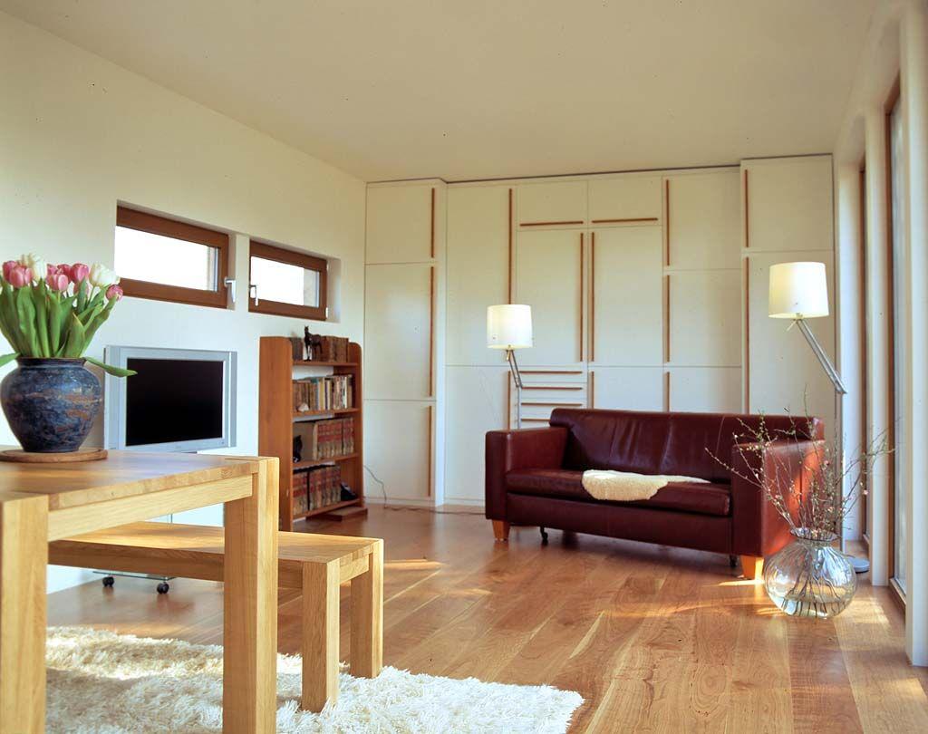 Mini Wohnzimmer ~ Mini häuser: natürlich wohnen im holz fertighaus neubau