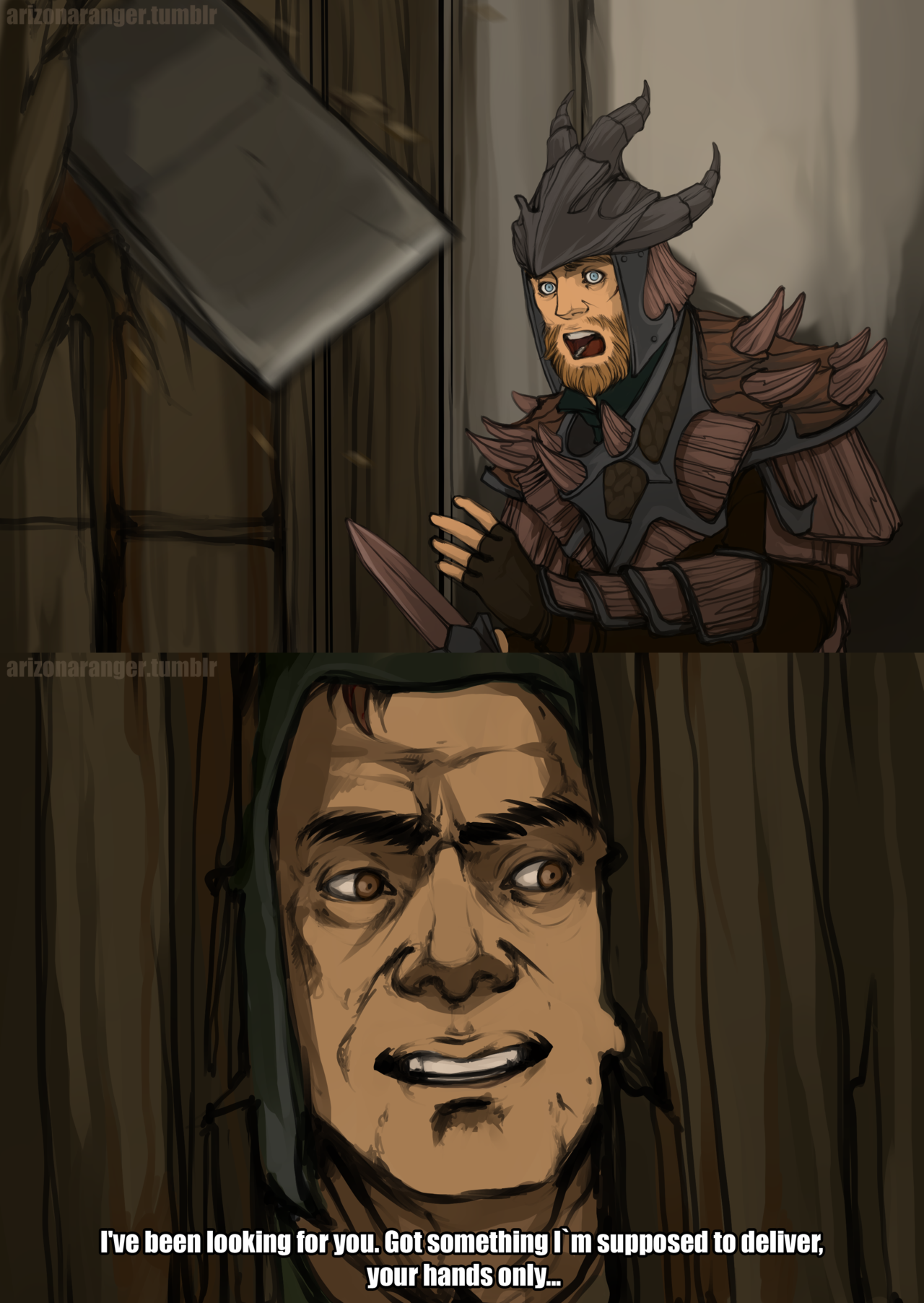 Skyrim Deliver Guy Finds You In Every Part Of Skyrim Skyrim Or