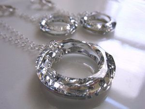 """The Host"". Sparkling, foil-lined Swarovski crystal ring jewelry inspired by Stephenie Meyer's novel. Super elegant."