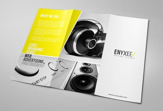 Most Inspiring Brochure Designs Of   Brochures And Tri