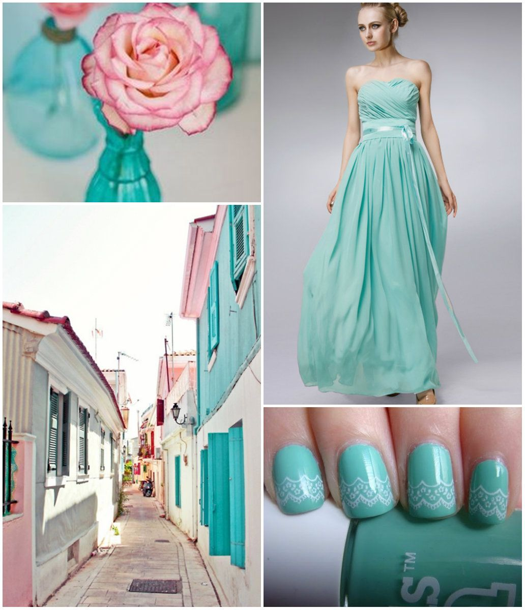 Seagreen Sweetheart Pleated Long Chiffon Prom Dresses