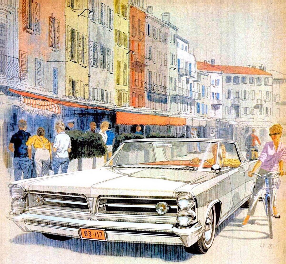 1963 Pontiac Grand Prix – 'St. Tropez': Art Fitzpatrick and Van Kaufman