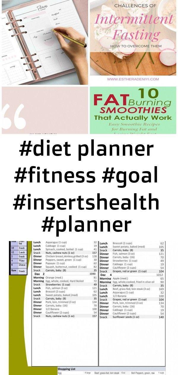 #diet planner #fitness #goal #insertshealth #planner #printable #fitness #goal #insertshealth #pla 2...