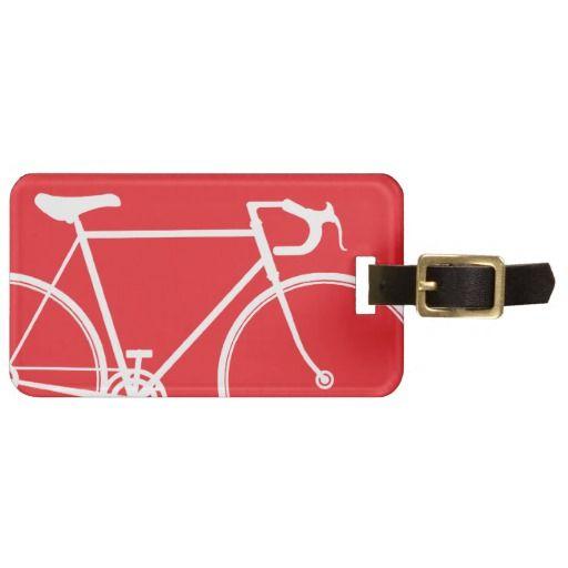 Bicycle Travel Bag Tag Template Tag templates - bag tag template