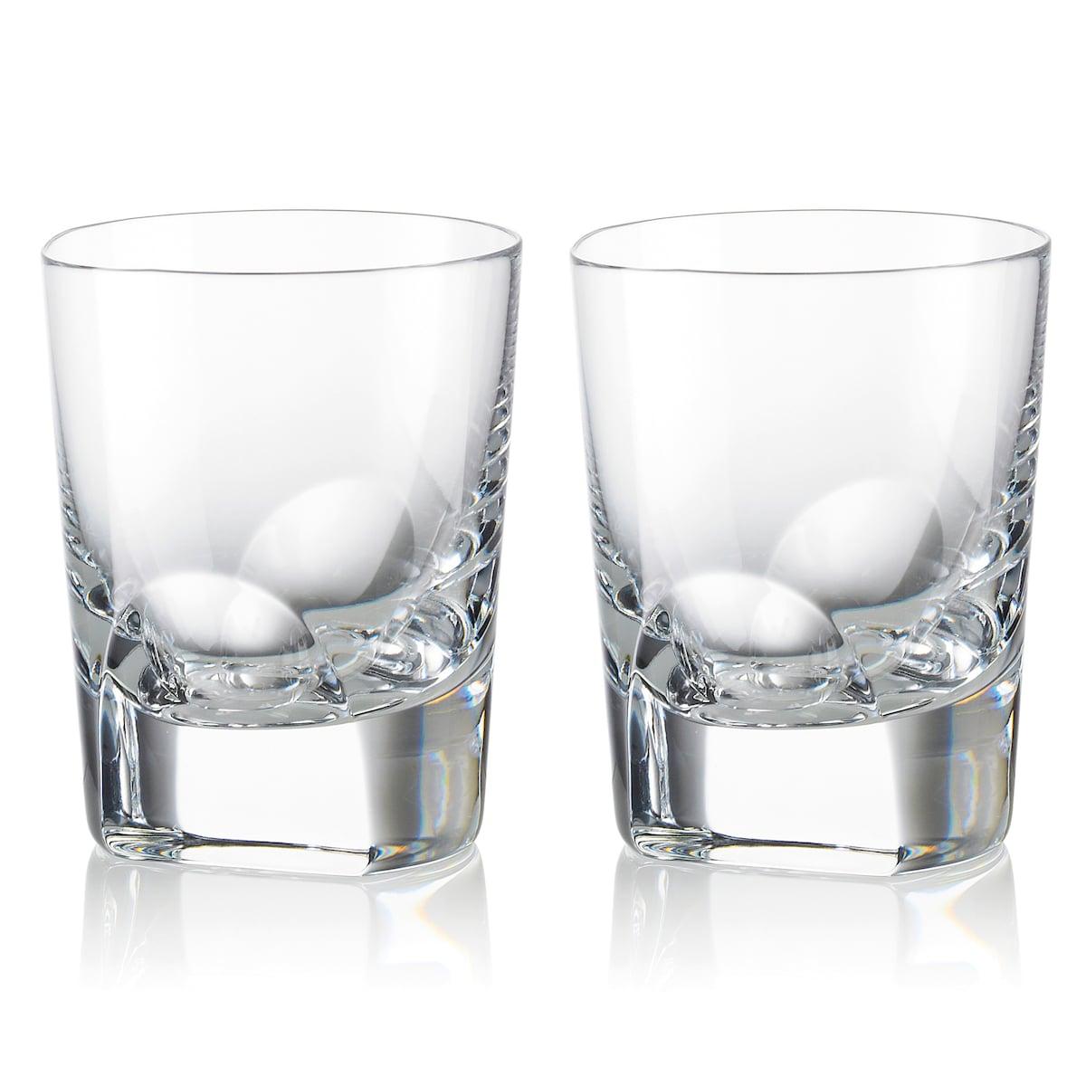 Linen Chest Manhattan Set Of Glasses By Rogaska Whisky