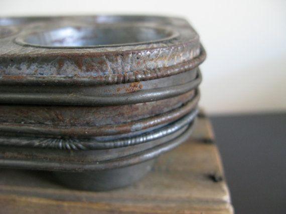 Vintage Mini Muffin Tins Ecko Ovenex Quot Kitchen