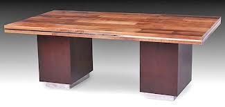 Woodlandcreekfurniture.com    Urban Modern Dining Table