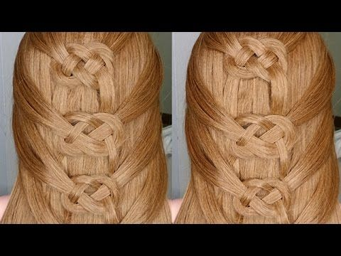 Easiest Way To Do A Celtic Braid Youtube Elsa Haar Mittelalterliche Frisuren Haar Styling