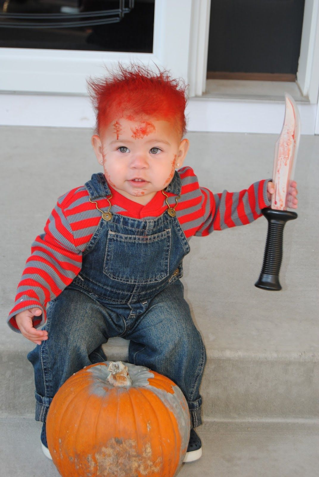 toddler halloween costume-chuckie | halloween | pinterest | chucky